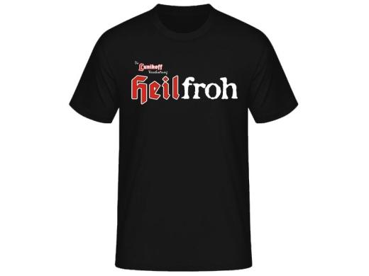 Heilfroh Die Lunikoff Verschwörung T-Hemd