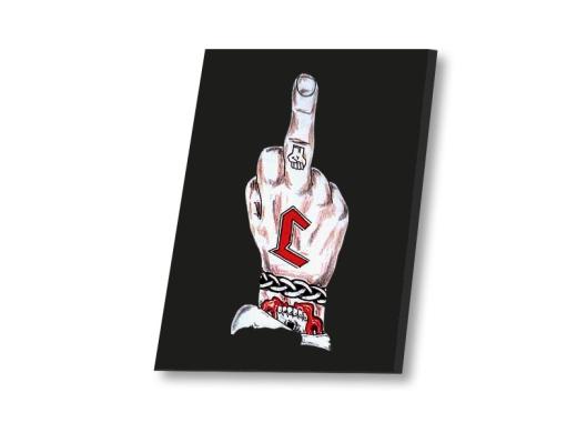 Der schlimme Finger Leinwand