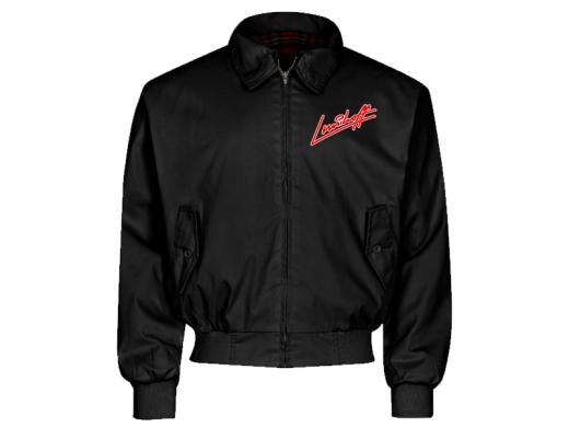Lunikoff Unterschrift Harrington Jacke schwarz