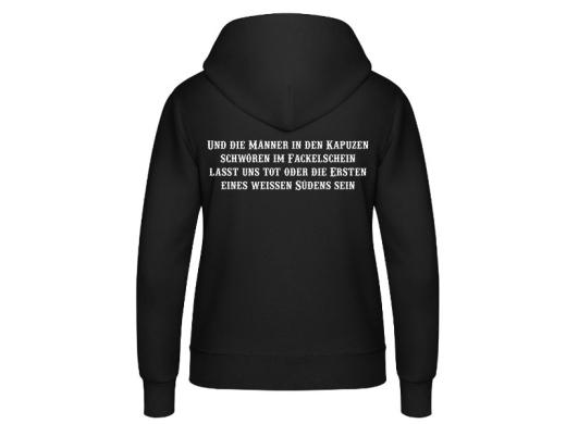 KKK Reiter Frauen Kapuzenpullover
