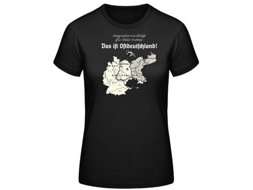 Das ist Ostdeutschland Hermannsland Frauen T-Hemd