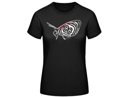 Schmetterling 88 Chefsache Frauen T-Hemd