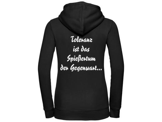 Bösmensch Hermannsland Frauen Kapuzenpullover