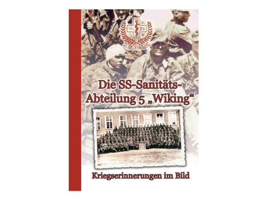 Buch - Die SS Sanitätsabteilung 5 Wiking