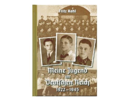 Buch - Fritz Hahl - Meine Jugend im Deutschen Reich 1922-1945