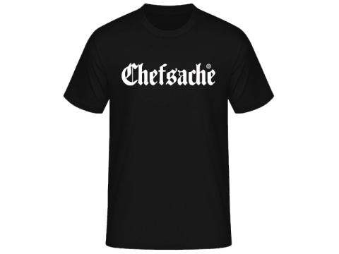 Chefsache Schriftzug T-Hemd