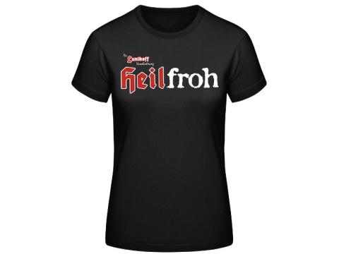 Heilfroh Die Lunikoff Verschwörung Frauen T-Hemd