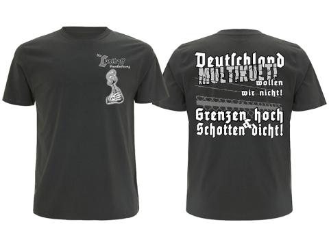 Grenzen hoch... Die Lunikoff Verschwörung T-Hemd