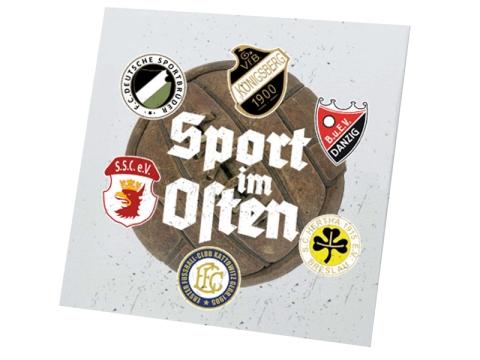Sport im Osten Leinwand weiß