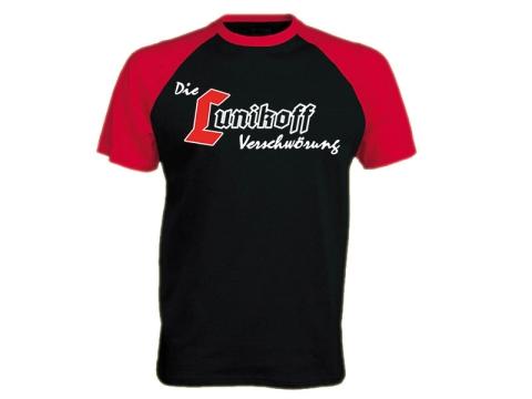 Die Lunikoff Verschwörung T-Hemd schwarz-rot