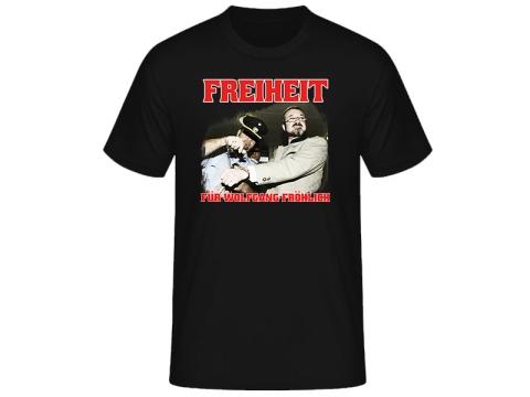 Freiheit für Wolfgang Fröhlich SOLI T-Hemd