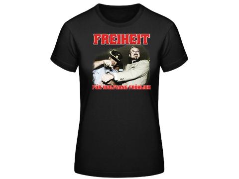 Freiheit für Wolfgang Fröhlich Frauen SOLI T-Hemd