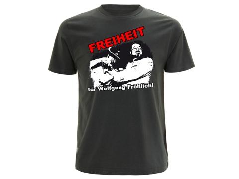 Freiheit für Wolfgang Fröhlich T-Hemd