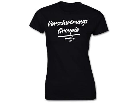 Verschwörungs Groupie Frauen T-Hemd
