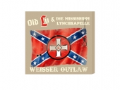 Old Lu und die Mississippi Lynchkapelle Weisser Outlaw Leinwand beige