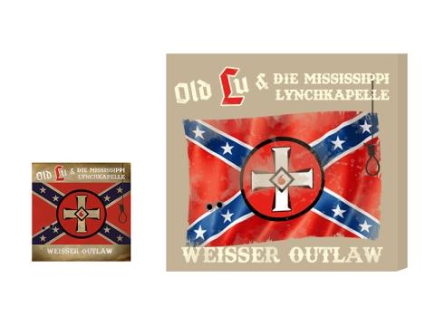 VORVERKAUF !!! Old Lu und die Mississippi Lynchkapelle Weisser Outlaw Leinwand beige + CD