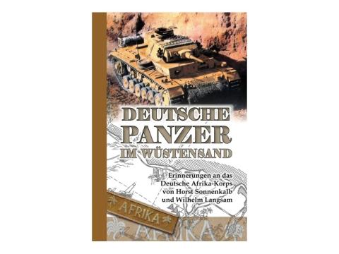 Buch - H. Sonnenkalb W. Langsam - Deutsche Panzer im Wüstensand